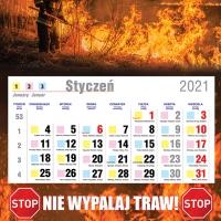 Kalendarze zmianowe 2021